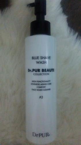 「#2 ブルーシェイブウォッシュ」弱酸性の洗顔料♪
