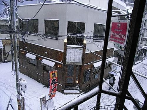 大雪警報が出ましたが、現在営業中です。