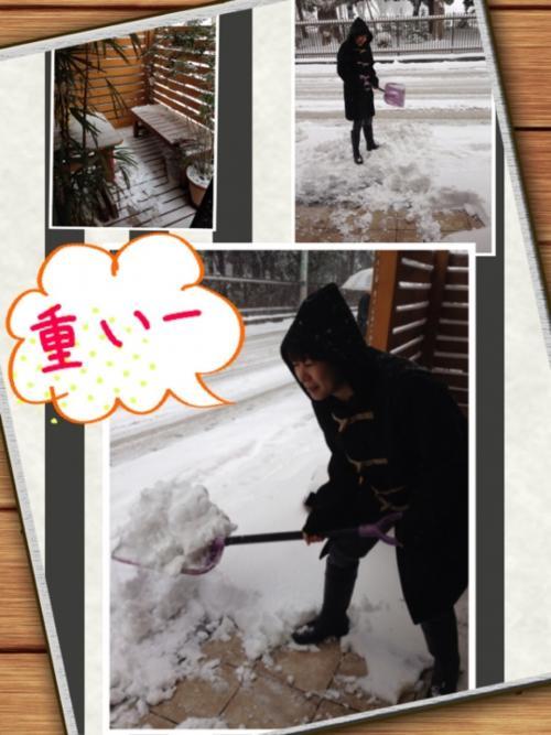 2月8日、大雪‼︎
