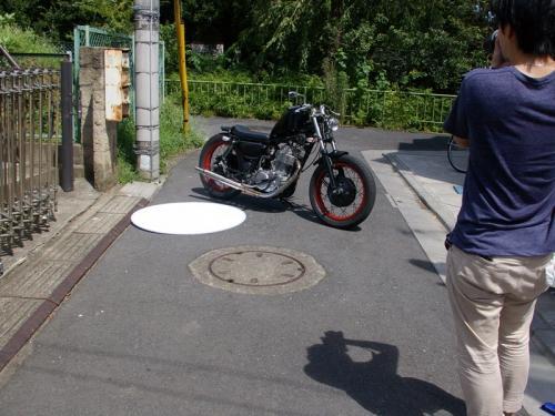 スタジオタック様SR400撮影