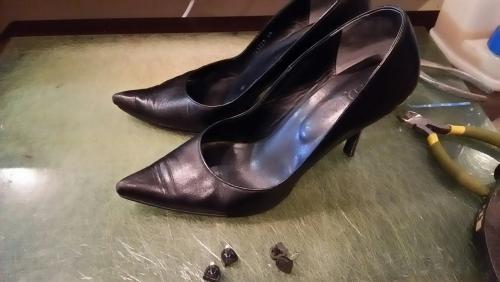靴の修理、調整、リペア