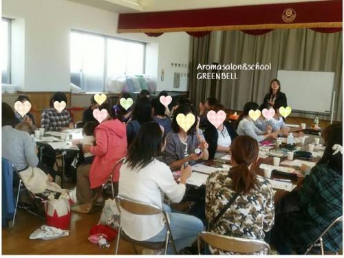 幼稚園母の会へ出張アロマ講習会!アロマスプレー作り