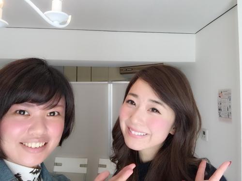水野佐彩さんご来店。