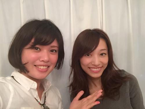 吉田理紗さんご来店。