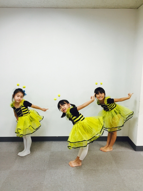 ダンス発表会 衣装合わせ