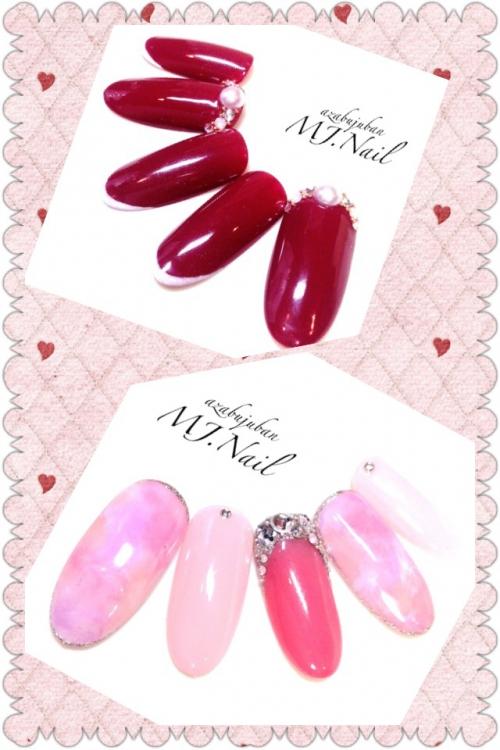 ポルドー&ピンク人気デザイン