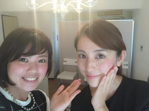 読者モデル、大谷朋子さんご来店。