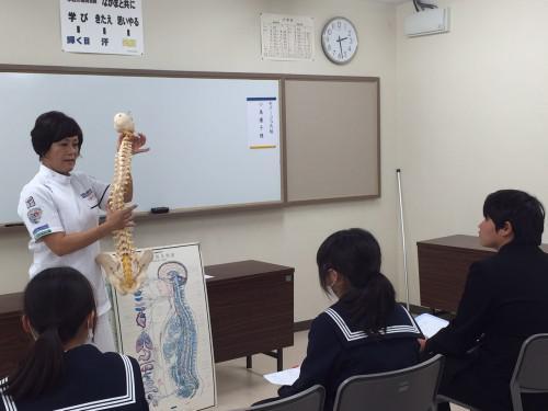 大垣江並中職業講話に行ってきました