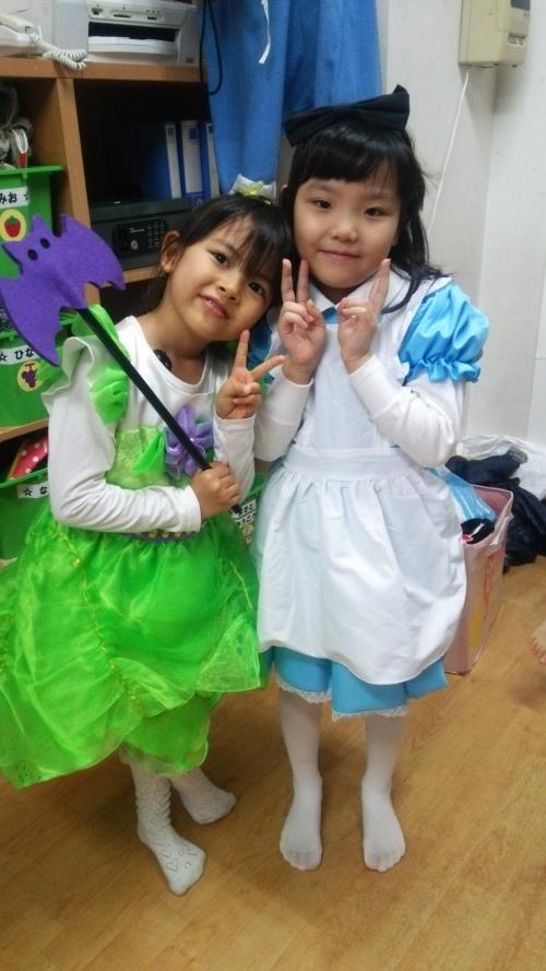 ハロウィンパーティー 衣装紹介!