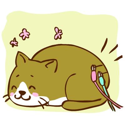 犬、猫の東洋医学の十二経脈の氣や血の流れ