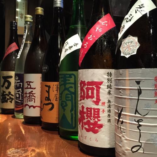 今週入荷の日本酒!(まんさくの花・浅間山・五橋・万齢)