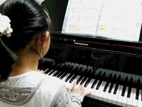ピアノを始めて2か月
