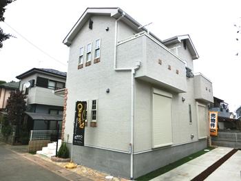上尾市向山 南欧風新築戸建 カースペース2台 仲介手数料無料