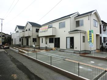 大宮駅・大和田駅2駅利用可能な新築戸建が完成間近です!