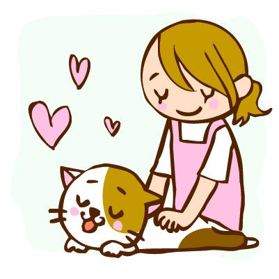 犬、猫の背中のマッサージやブラッシングの重要性