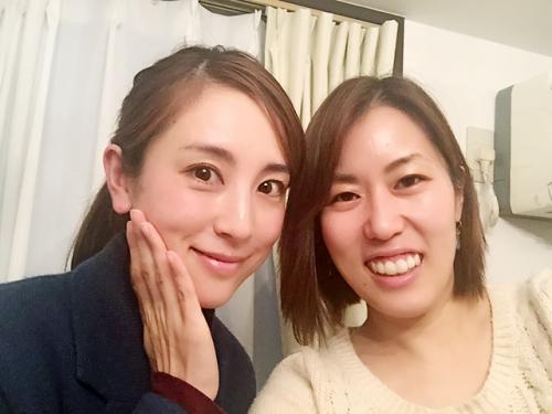 読者モデル、大谷朋子さんご来店!