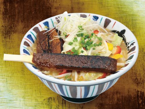 季節限定「炙り味噌麺」の販売開始