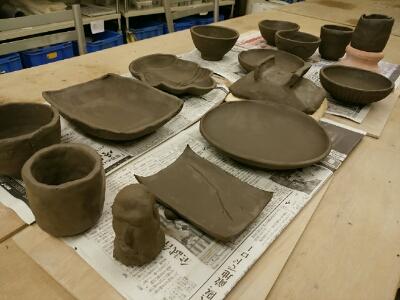 一橋大学の留学生の方が陶芸体験に見えました。