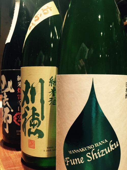 今週入荷の日本酒!(まんさくの花・刈穂・山法師)