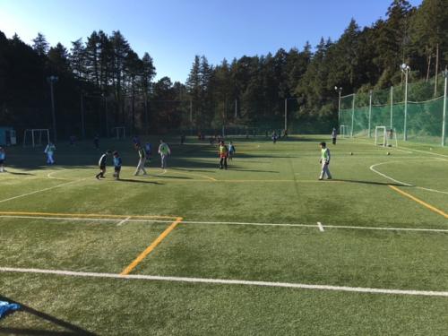 サッカーチーム活動親子サッカー5 年生