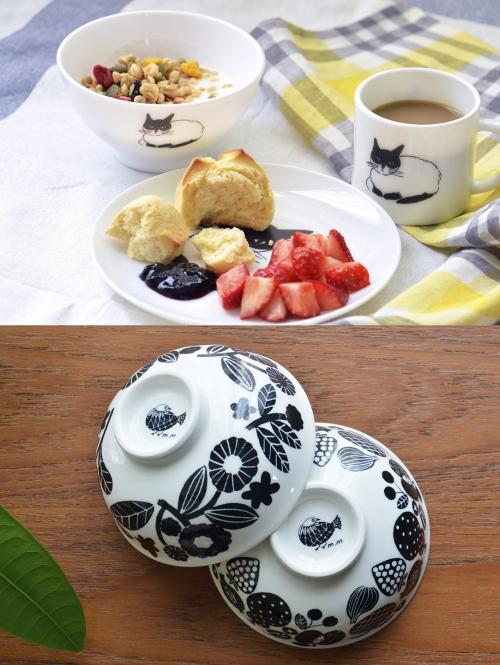 『松尾ミユキ』さんイラストのミルクグラスシリーズ入荷