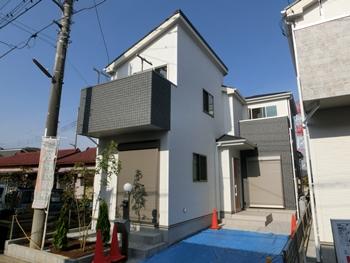 上尾市原市 南道路 2駅とも徒歩10分 日当り良好な新築戸建