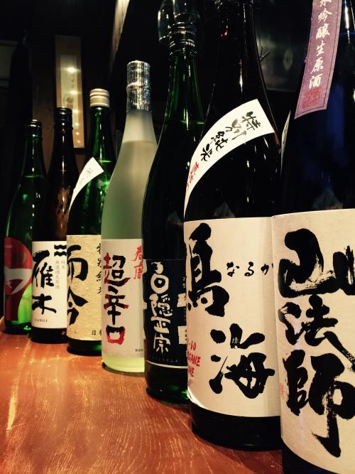 今週入荷の日本酒!(山法師・春鹿・而今・雁木)