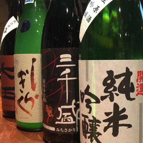 今週入荷の日本酒!(開運・三千盛・土佐しらぎく・七田)
