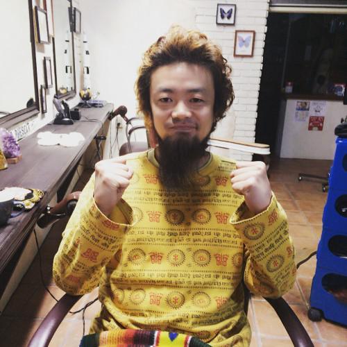 新潟 古町 barber パーマ