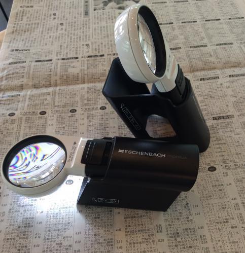 LEDワイドライトルーペ専用スタンド