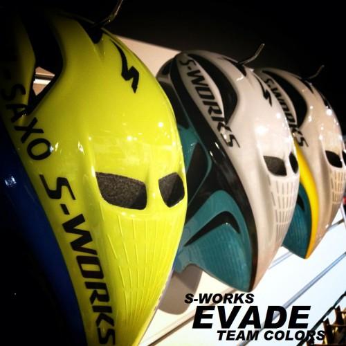 限定ヘルメット ≪S-WORKS EVADE TEAM≫