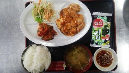 焼き肉ランチ、ホルモン定食