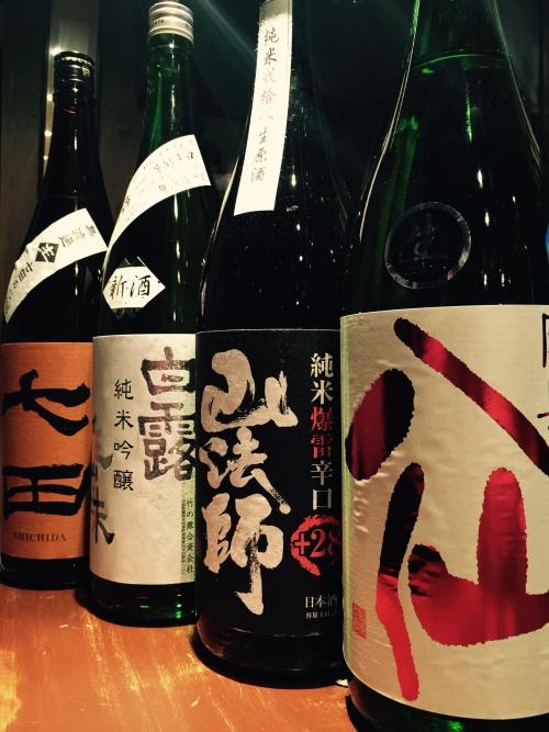 今週入荷の日本酒!(陸奥八仙・新政・山法師・七田・鍋島)