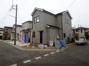 上尾市向山 土地40坪以上 新築一戸建て 2,680万円より