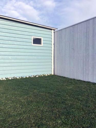 ガーデンスタジオ・2月の芝生