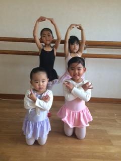 3歳児のバレエレッスン☆彡
