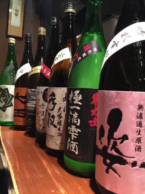 今週入荷した日本酒!(鶴齢・而今・雁木・賀儀屋・七田)