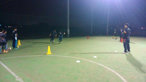 ドリブル強化 水戸市サッカースクール