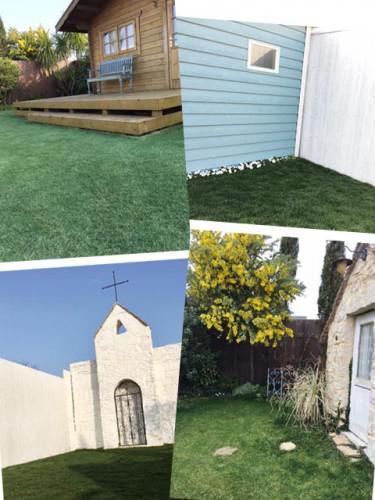 ガーデンスタジオ:3月の芝生