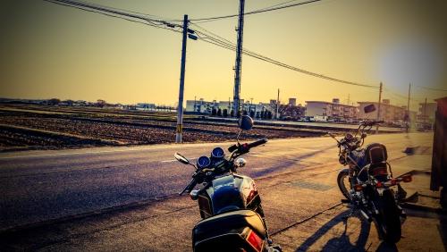 春の陽気に誘われて♪♪バイク日和