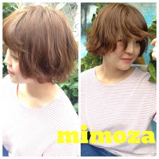 flowercolor**mimoza