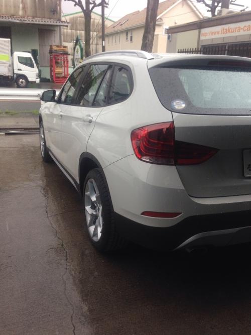 BMW X1 納車、N box納車