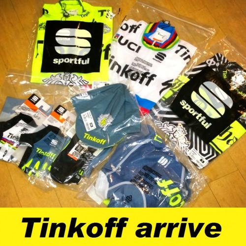 入荷情報≪Sportful Tinkoff チームジャージ≫