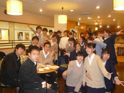 七里ガ浜高校2年9組の皆様が合唱祭の打ち上げで食べ放題