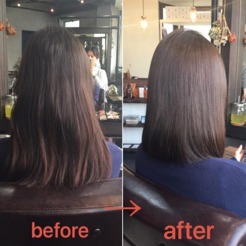 梅雨でもくせ毛がまとまる、湿気で広がらない髪質改善ストレート
