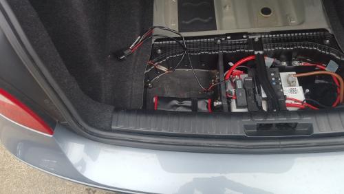 BMW E87 120 バックカメラ取り付け