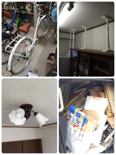 千葉県浦安市にて自転車組立と日曜大工のご依頼