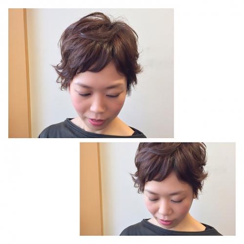 ショートヘア ベリーショート 髪型 スタイリング