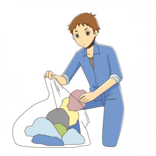 品川区東五反田にて残地物処分の搬出仕分け作業実施!