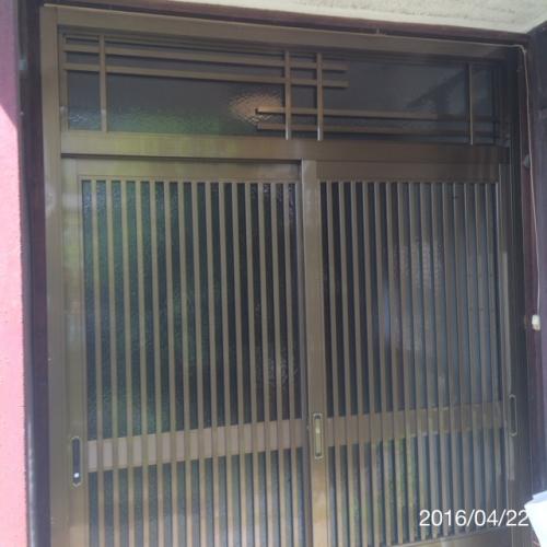 リフォーム名古屋玄関サッシ引戸